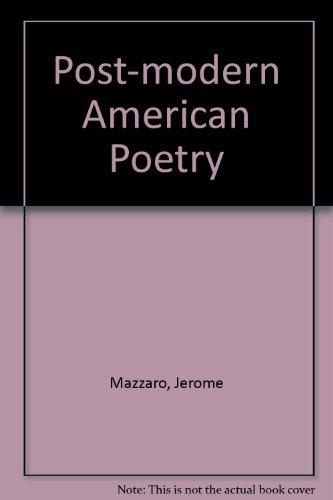 Postmodern American Poetry