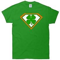 Super Irish Cloverleaf St. Patricks Day Funny T-Shirt