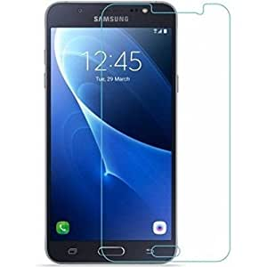 Royal Touch ( TM) SAMSUNG GALAXY J7 PRIME TEMPERED GLASS SCREEN PROTECTOR / BUBBLE FREE APPLICATION / HOLE FOR FRONT PROXIMITY SENSOR / NO HANGING PROBLEM /HIGH QUALITY JAPANESE AGC GLASS MATERIAL / 9H HARD / 2.5D GLASS / 0.25MM THICKNESS