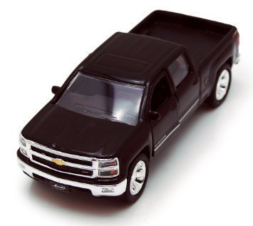 Chevy Silverado Pickup Truck, Black - Jada Toys Just Trucks 97017 - 1/32 scale Diecast Model Toy Car (Chevy Toy Trucks compare prices)
