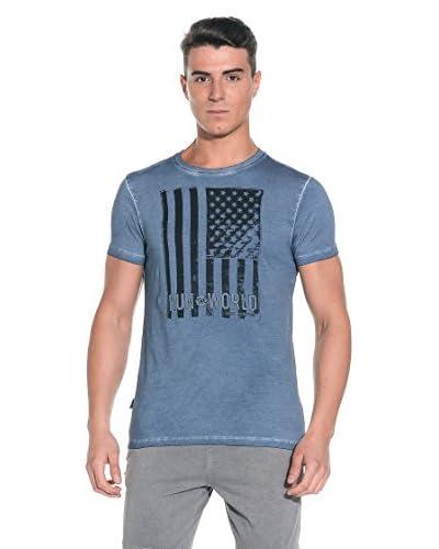 New Balance T-Shirt Manica Corta [Blu Scuro]