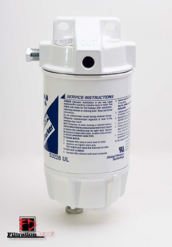 Racor 320R-Rac-02 Marine Fuel Filter Water Separator front-21945