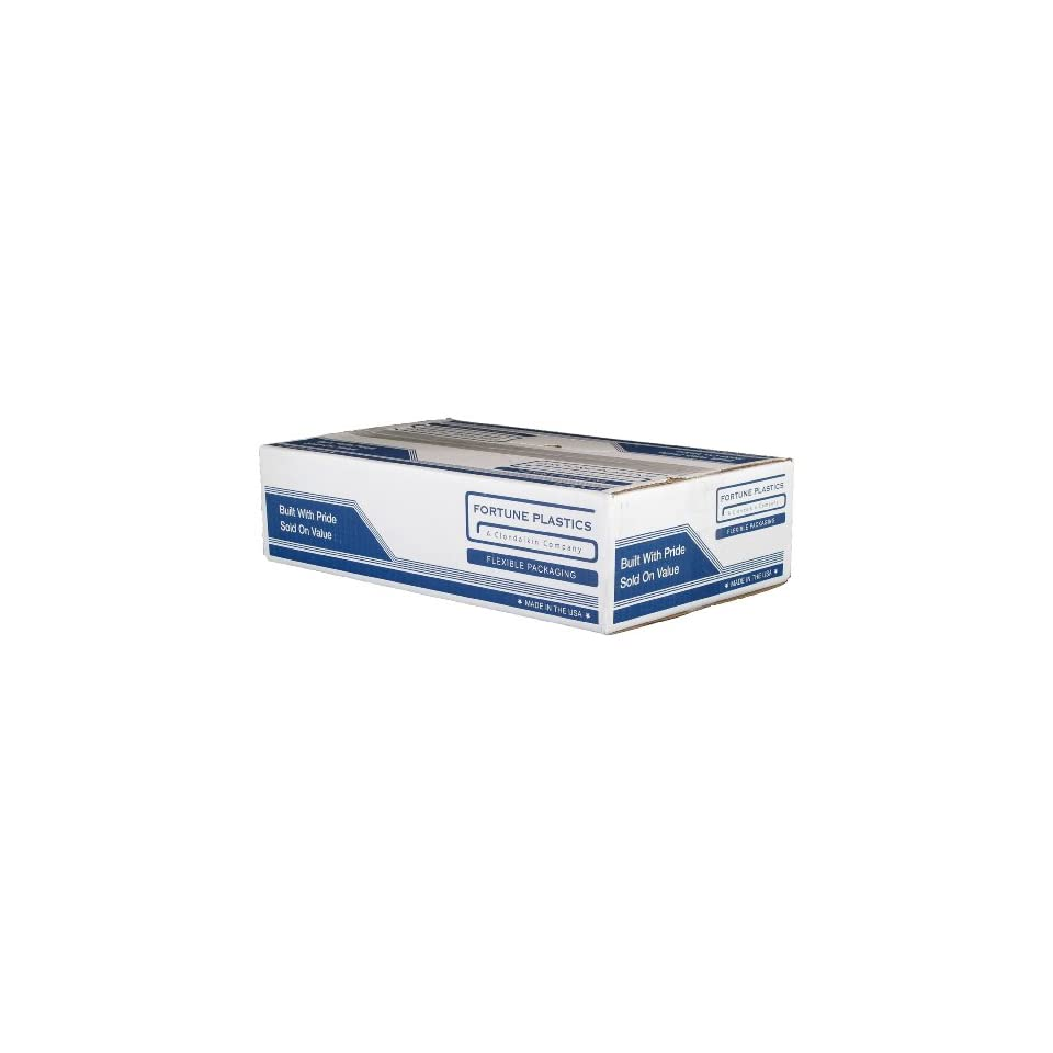 Fortune Plastics DuraLiner Premium LDPE 15 Gallon Waste Can Liner, Gusset Seal, Gray, 0.6 Mil, 31 x 24 x 9 (Case of 500)