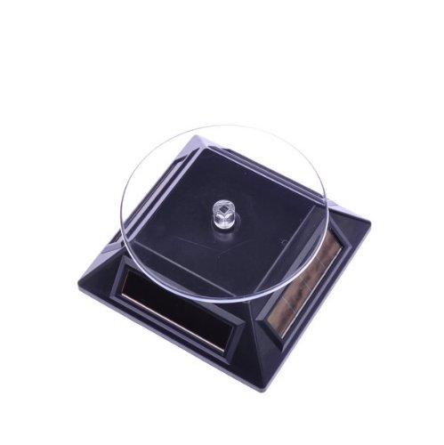 Solar Powered Rotating Rotary Phone Jewelry Display