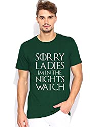 Im in the nights watch Dark Green T-shirt