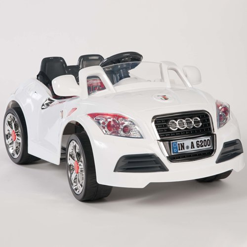 Ride on Car 12v Audi Style Kids Power Wheels w/ Mp3 Remote Control Toy