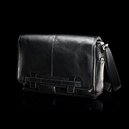 Samsonite Black Label Leather Messenger