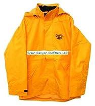 Calcutta Storm Jacket Rainsuit (Yellow, X-Large)