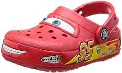 Crocs Boys Red Rubber Clogs and Mules - C8