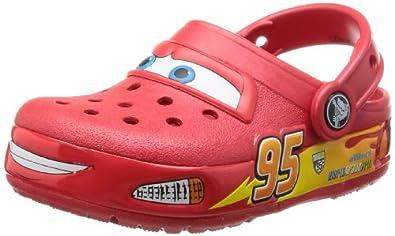 Crocs Lights Cars, Sabots garon - Rouge (Red),  EU 24-25 (C8)