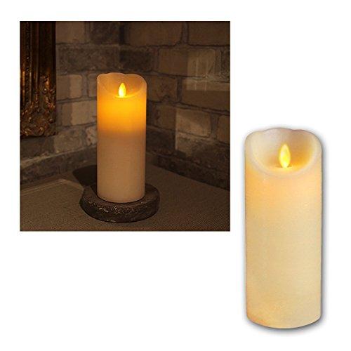 Star LED-Wachskerze 'Twinkle Flame'mit beweglicher Flamme,...