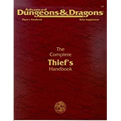 The Complete Thief's Handbook: Player's Handbook Rules Supplement, 2nd Edition (Advanced Dungeons &... by John Nephew, Carl Sargent and Douglas Niles