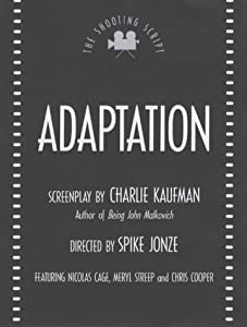 Cover of &quot;Adaptation (Shooting Scripts)&quot;