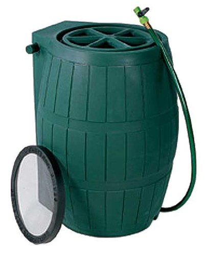 Achla Model RB-01 Rain Catcher 54-US Gallon Water Barrel