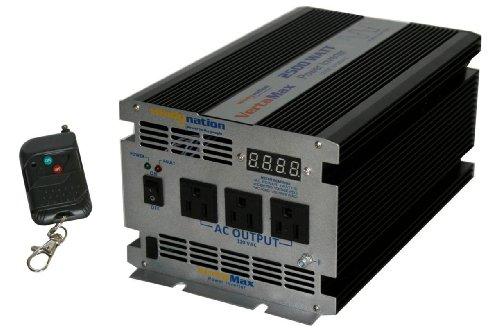 Vertamax 2500 Watt 12V Power Inverter Dc To Ac Car, Rv, Solar, Off-Grid, Rv