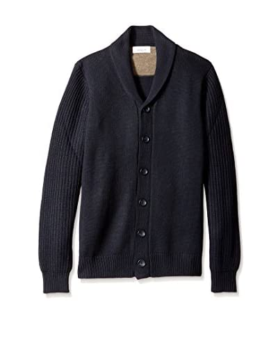 Toscano Men's Shawl Collar Cardigan
