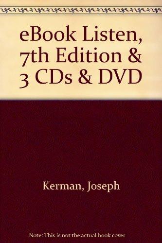 E-Book for Listen 7e & 3-CD Set & Companion DVD