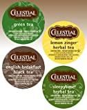 Celestial Seasonings Tea Sampler, 22-Count K-Cups for Keurig Brewers