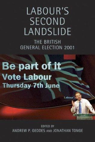 Labour's Second Landslide: The British General Election 2001