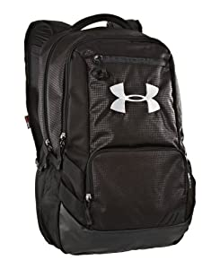 Under Armour UA Hustle Storm Backpack One Size Fits All Black