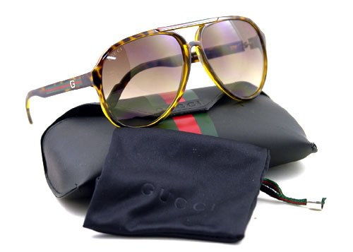 AUTHENTIC GUCCI SUNGLASSES AVIATOR GG 1627 HAVANA