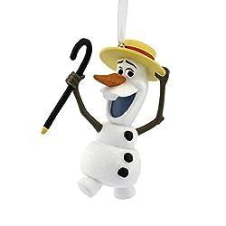 Hallmark Disney Frozen Olaf Holiday Ornament
