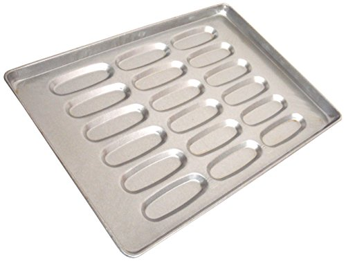 "Magna Industries 14830 Hot Dog Bun Pan, 18"" X 26"", Silver (Pack Of 6) front-252762"