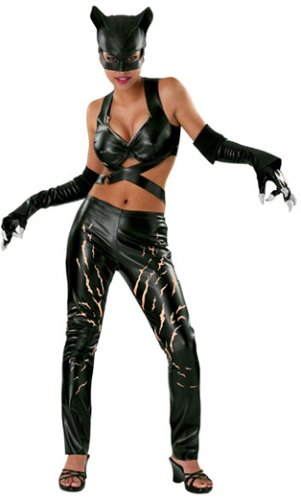 DC Comics Adult Catwoman Halloween Costume