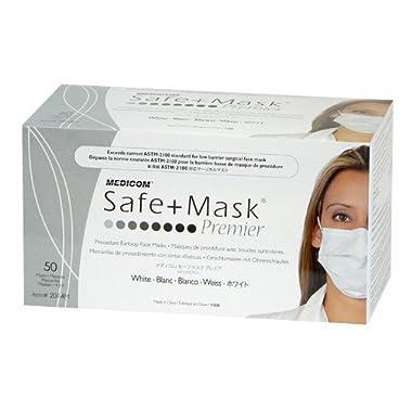 インフルエンザ対策用 セーフマスク プレミア ホワイト・カラー