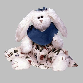 "Ty Attic Treasures Bloom 12"" Plush Bunny"