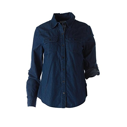 Charter Club Womens Petites Chambray Cuffed Sleeve Button-Down Top push button switch xb4 series zb4bg2 zb4 bg2 page 9