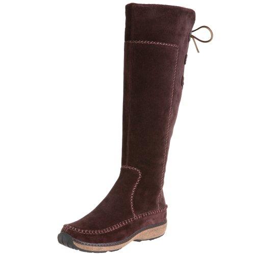 Timberland Women's Fauna Tall Boot,Dark Brown,6 M