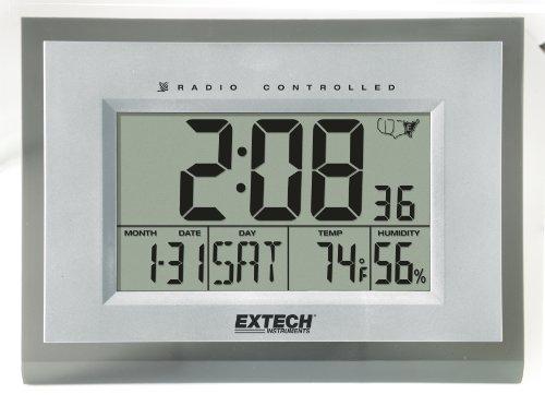 Extech 445706 Hygro-Thermometer Alarm Clock - 1
