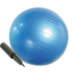 EGS(イージーエス) バランスボール アンチバースト仕様 ポンプ付き 65cm EG-3062
