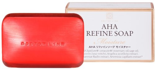 AHAリファインソープ モイスチャー スキンケア 洗顔石鹸 洗顔ソープ