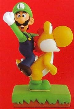 New Super Mario Bros Wii MAX FIGURE [Luigi et Yoshi (jaune)] (Japon import / Le paquet et le manuel sont ?crites en japonais)