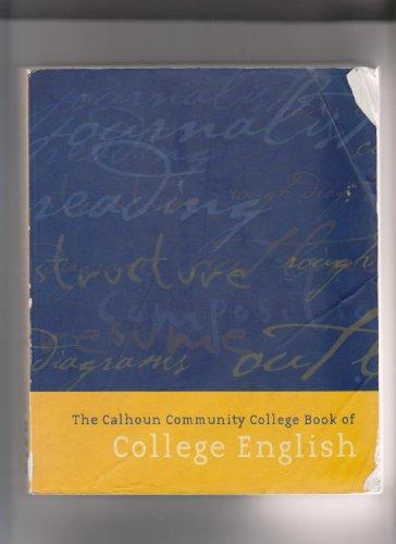 The Calhoun Community College Book of College English
