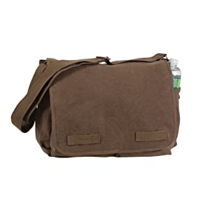 Rothco Hw Canvas Classic Messenger Bag from RSR Group, Inc