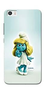 DigiPrints Designer Back Cover for Xiaomi Mi 5-Multicolor