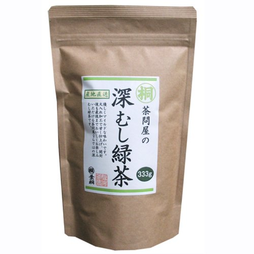 深むし緑茶 Japanese Pure Green Tea (333G/11.74Oz) Sen-Cha Ryoku-Cha Extra Volume & Special Price Japanese Green Tea From Shizuoka Japan With A Tracking Number