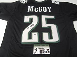 Lesean Mccoy Philadelphia Eagles Signed Autographed Jersey Authentic Certified Coa