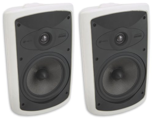Niles Os7.5 White (Pr) 7 Inch 2-Way High Performance Indoor Outdoor Speakers ...