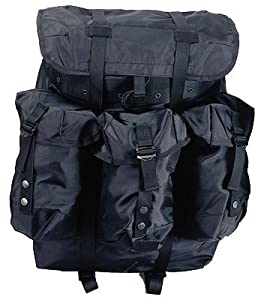 Black Large ALICE Pack w Straps & Frame by Rothco