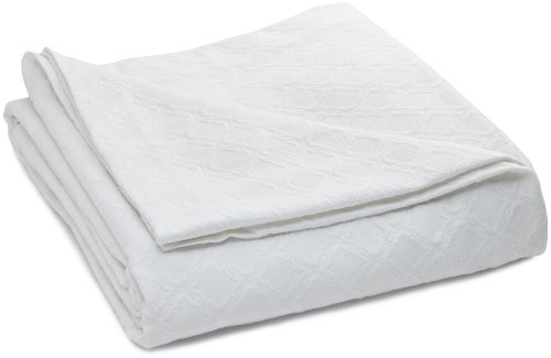 Charisma Matelasse Queen Coverlet, Snow