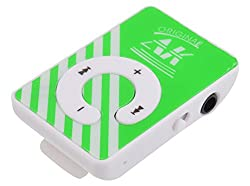 Kriva Enterprise Mini Mp3 Player (Green)