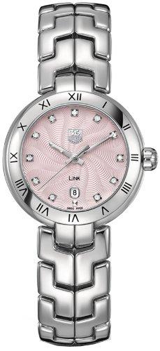 TAG Heuer Women's WAT1415.BA0954 Link Analog Display Quartz Silver Watch