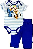 "Disney Baby-boys Newborn"" Tigger-ific"" Tigger 2 Piece Creeper Pant Set 0-9 Months"