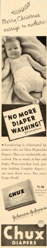 1936-ad-chux-disposable-diapers-johnson-johnson-baby-original-print-ad