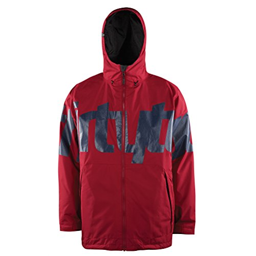 Thirtytwo Men's Lowdown Jacket, Red, Large
