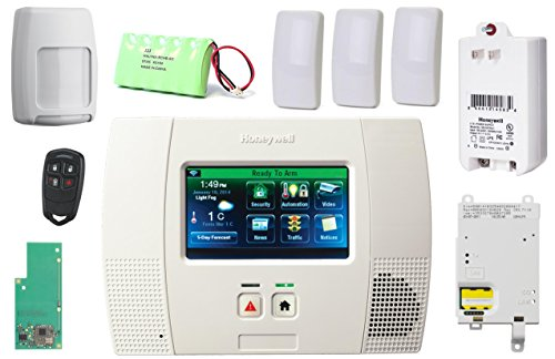 Honeywell Lynx Touch L5200 Wireless Security Alarm Slim Line Kit with 3GL GSM & Zwave Module (Honeywell L5200 Security System compare prices)